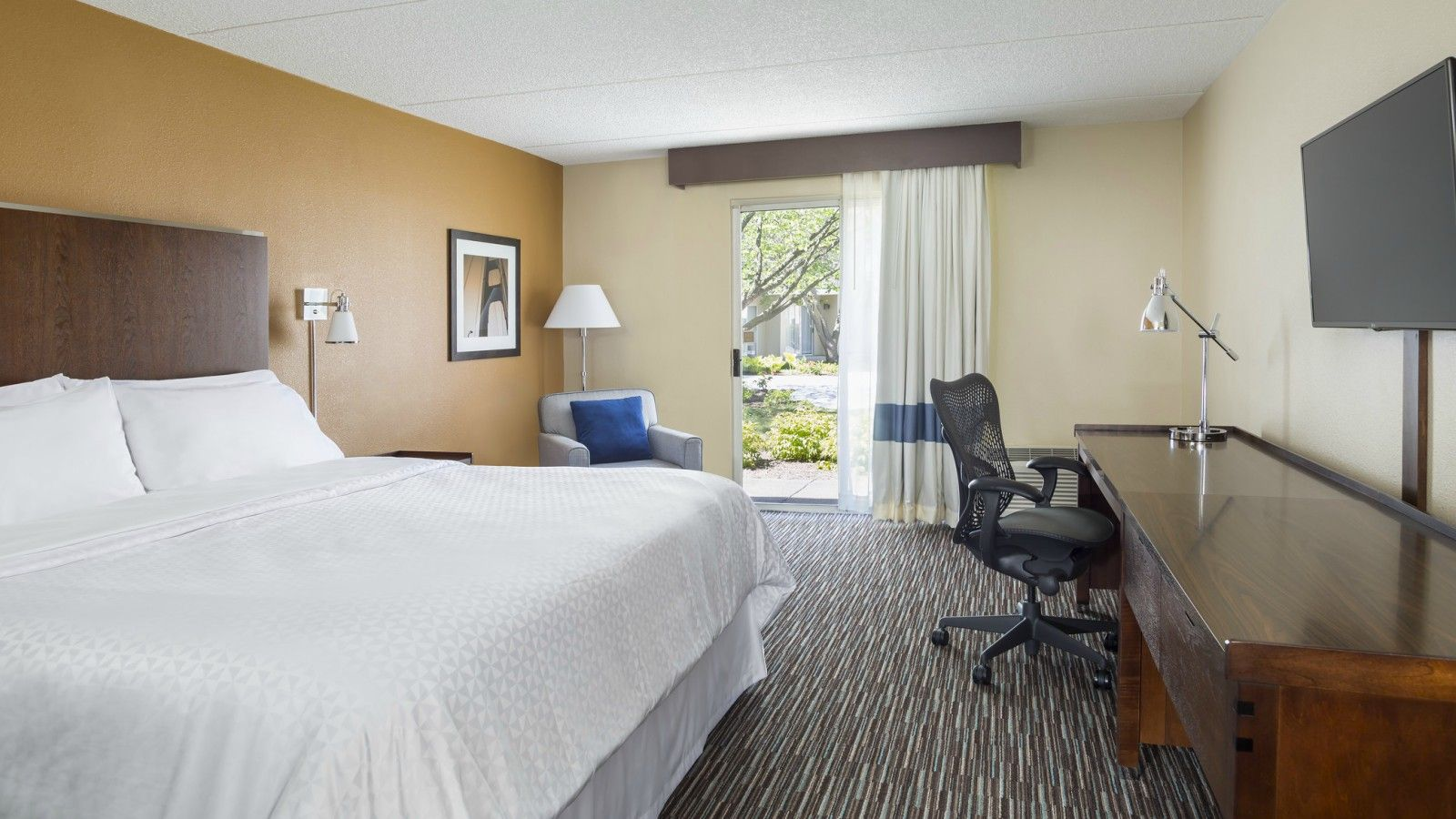 Buffalo Grove Accommodations - Traditional King Guest Room